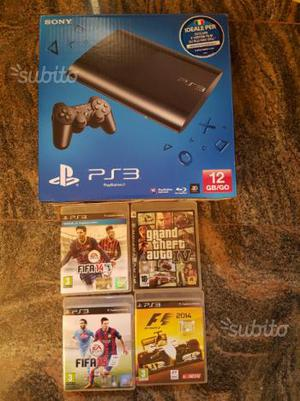 Playstation 3 PS3 con 4 giochi