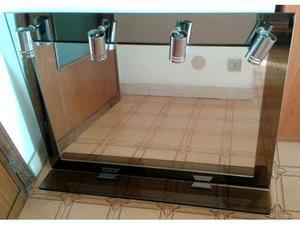 Specchiera da bagno con 4 luci