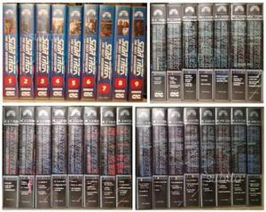 Star Trek The Next Generation VHS Stagioni 1-4