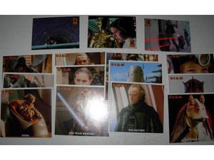 Star Wars Card illustrate miste episodio I - IV - V