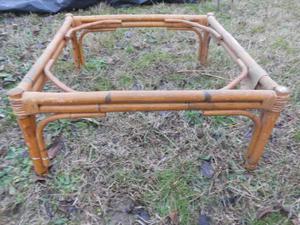 Tavolo basso in bamboo vintage anni 60 Euro 30