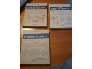 Corso di disegno tecnico 3 volumi Pacetti
