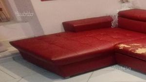 Vendo divano con penisola e parete attrezzata posot class - Parete attrezzata con divano ...