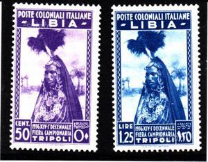 Francobolli colonie italiane