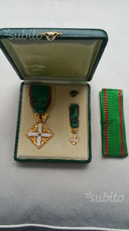 Medaglia Cavaliere repubblica Italiana