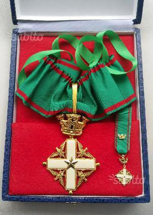 Medaglia collare Cavaliere Repubblica Italiana