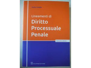 PAOLO TONINI - Lineamenti di Diritto Processuale Penale