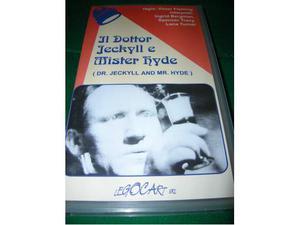 VHS Il Dottor Jeckyll e Mister Hyde