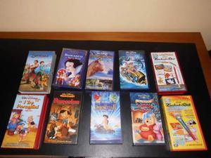 Videocassette Originali Walt Disney / Cartoni Zecchino d'oro