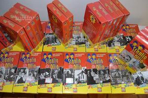 Collezione completa (35 vhs) STANLIO & OLLIO