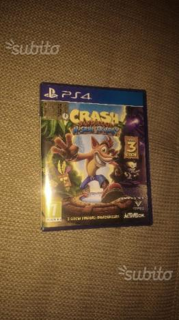 Crash Bandicoot N'sane trilogy PS4