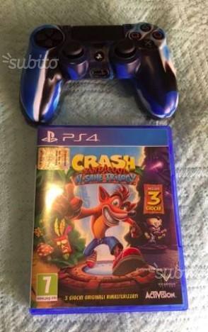 Crash Bandicoot Ps4 + Dualshock 4 Nuovi