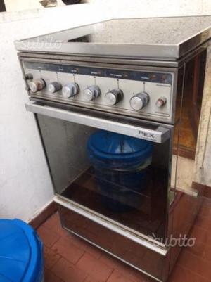 cucina a gas acciaio inox 4 fuochi con forno a gas posot