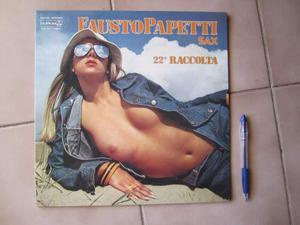 Disco vinile 33 giri Fausto Papetti 22esima raccolta