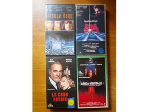 Film in videocassetta VHS, ediz. originali.