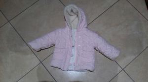 Giacca invernale bimba 6 mesi, colore ROSA