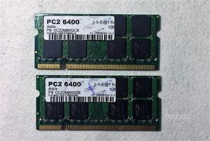Kit Ram 2Gb (2x1Gb) DDR2 OCZ