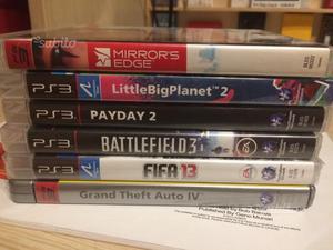 Lotto giochi PS3