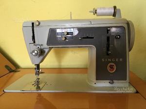 Macchina da cucire con mobiletto posot class for Macchina da cucire singer elettrica