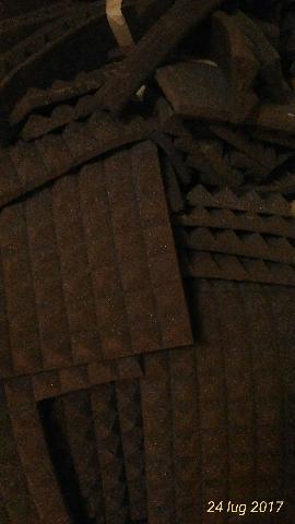 PANNELLI fonoassorbenti 12 mq piramidali