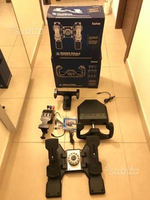 Saitek Pro Flight Yoke Rudder Pedals