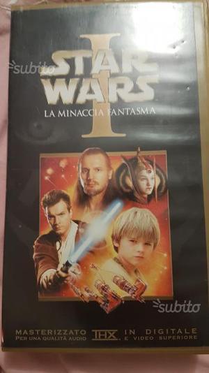 Videocassetta star wars