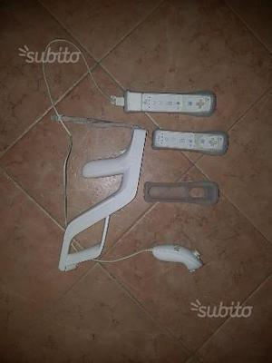 Wii con accessori e con giochi