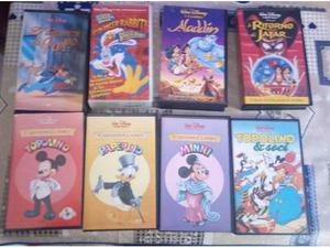 25 videocassette vhs originali