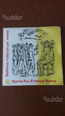 Disco 45 giri Dario Fo e Franca Rame