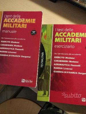 Kit test accademia militare