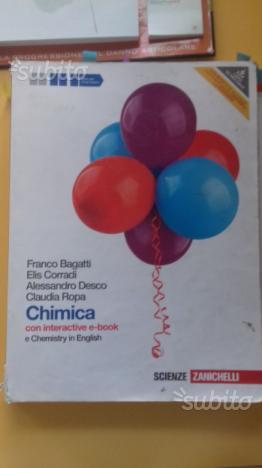 Libro di chimica per il liceo Chimica