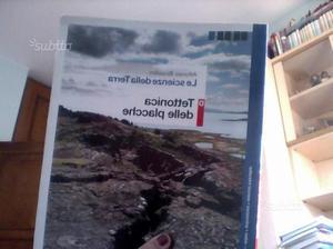 """Libro scolastico di scienze """" Tettonica delle plac"""