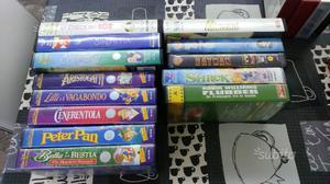 VHS cartoni DISNEY e altro