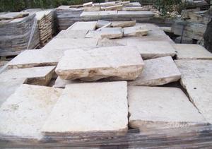 Basola in pietra antica di recupero