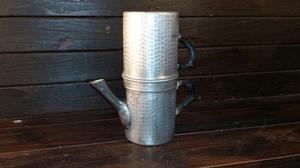 C37 il riuso caffettiera napoletana 6 tazze alluminio