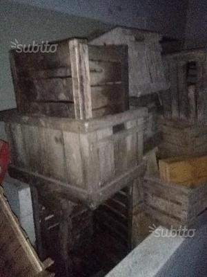 Cassette di legno ed altro