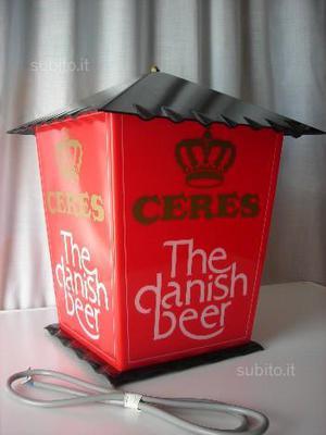 Ceres lampada lanterna the danish beer birra pub