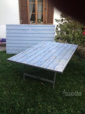 Tavoli per mercatini in alluminio posot class - Tavoli in alluminio per esterni ...