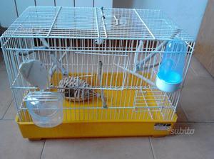 Gabbia per uccelli o, (criceti, con ruota inclusa)