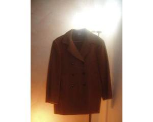 Etro giacca doppio petto grigio mis 50  0299df50618