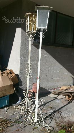 Lampioni vintage da esterno