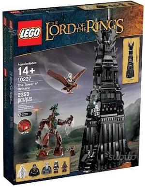 Lego  lord of the rings tower of orthanc new