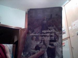 """Libro di storia """" Dialogo con la storia. """""""