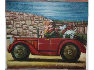 Matera Olio su Tela 60x70 di Salvo Lombardo
