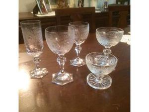 """Servizio bicchieri cristallo """"DUX"""" Maestro Varisco"""