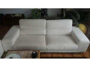 Set di due divani in microfibra