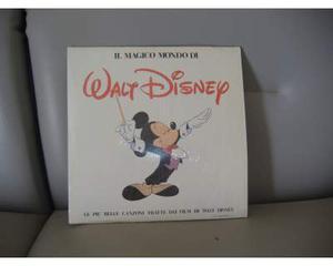 """Il magico mondo di walt disney """"doppio lp"""""""