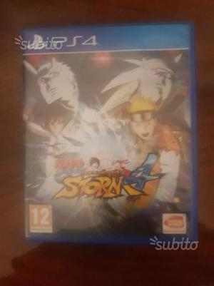 Naruto ninja storm 4 ps4 vend0 o scambi0