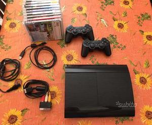 PS3 slim 12 gb e giochi