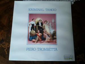 Piero TROMBETTA lp kriminal tango 1a STAMPA  sigillato